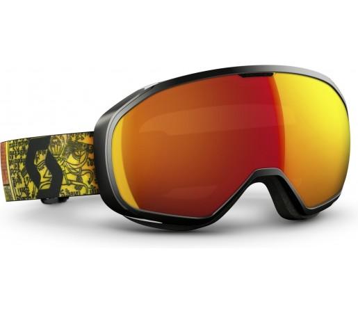 Ochelari schi si snowboard Scott Fix Portocaliu/Rosu