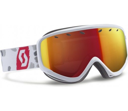 Ochelari schi si snowboard Scott Capri Alb/Rosu