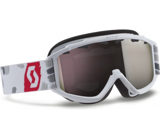 Ochelarii schi si snowboard Scott Hook Up Junior Alb/Rosu