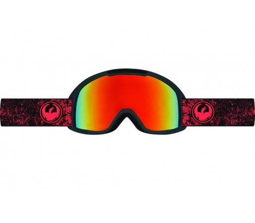 Ochelari schi si snowboard Dragon DX2 Rosii/Negri / Red Ionized + Yellow Blue Ion