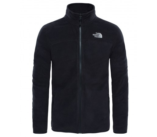 Polar The North Face 100 Glacier Full Zip M Negru