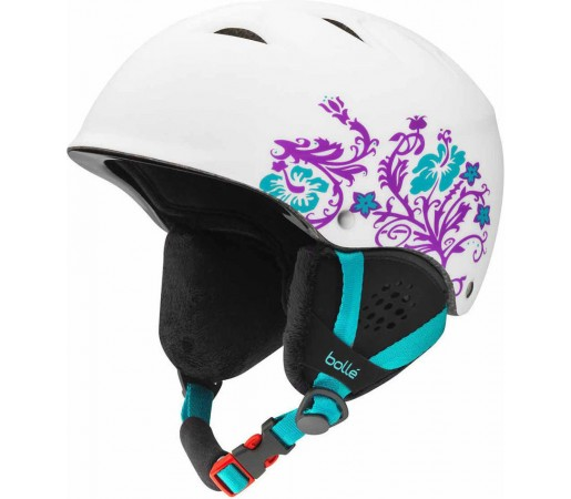 Casca Schi si Snowboard Bolle B-Free Soft White Flower
