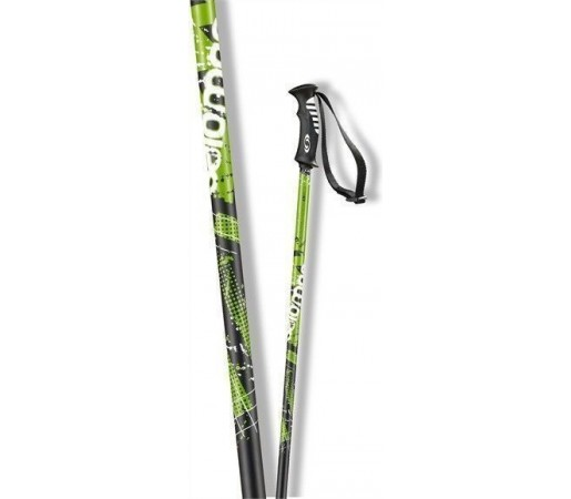 Bete ski Salomon Arctic Black/Green 2013