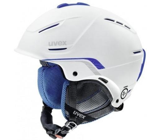 Casca Ski si Snowboard Uvex Plus Pro Alb