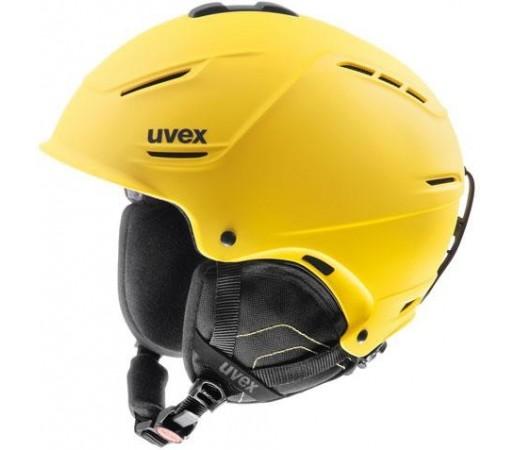 Casca Schi si Snowboard Uvex P1us Galbena
