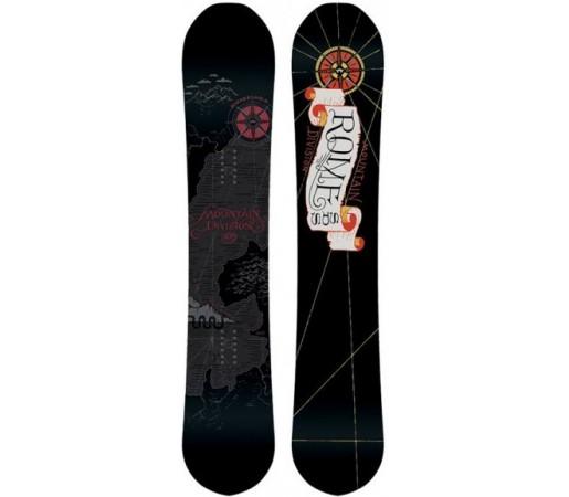 Placa snowboard Rome Mountain Division Neagra 2016