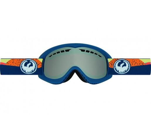 Ochelari schi si snowboard Dragon DX Albastri/Portocalii / Ionized