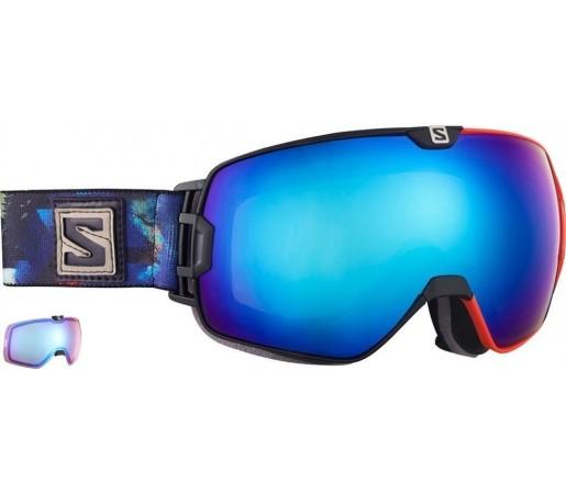Ochelari ski Salomon X-Max Blue Solar