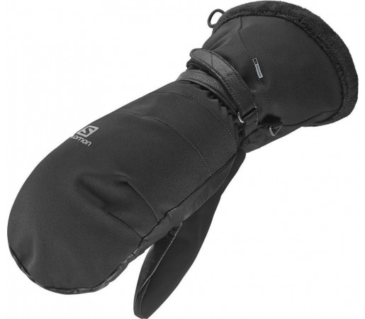 Manusi Salomon Eden Down Mitten W Black