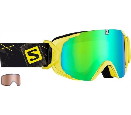 Ochelari Ski si Snowboard Salomon X-View Yellow/ Green