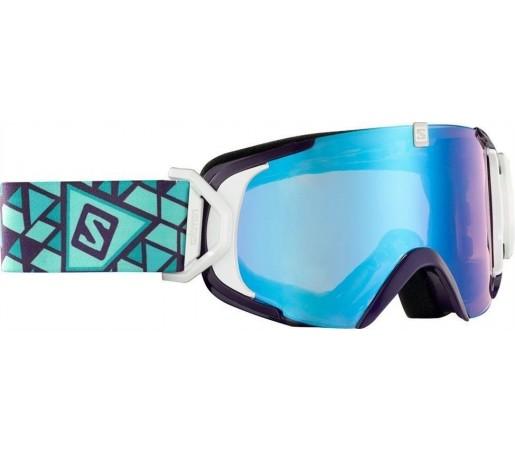 Ochelari Ski si Snowboard Salomon X-View S Wh. Purple/ Blue Lowlight
