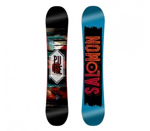 Placa de snowboard Salomon Pulse Wide Albastra 16/17