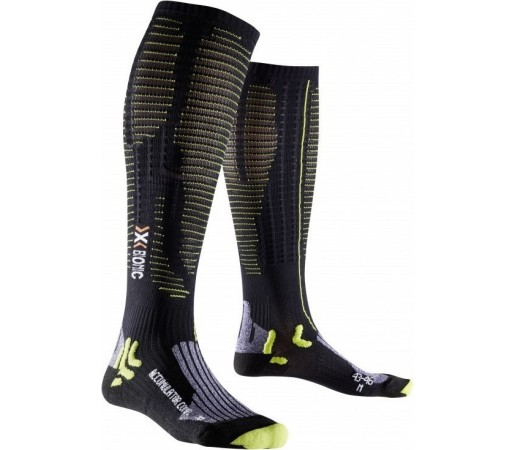 Sosete X-Socks Accumulator Competition Black/Lime
