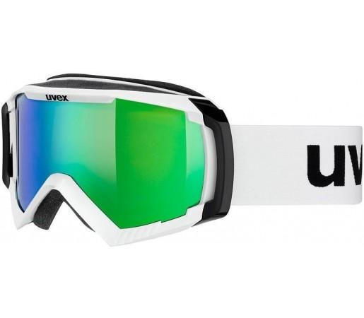 Ochelari Ski si Snowboard Uvex Apache II Alb/Verde