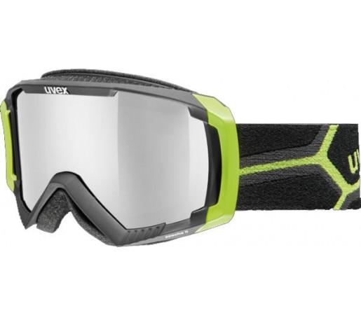 Ochelari Ski si Snowboard Uvex Apache II Negru/Verde