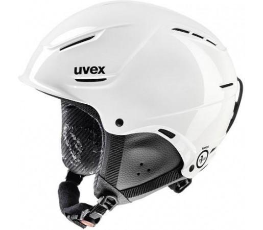 Casca Ski si Snowboard Uvex Plus Junior Alb