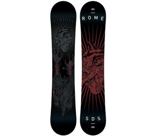 Placa snowboard Rome Garage Rocker Neagra 2016