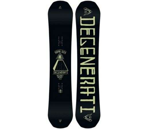 Placa snowboard Rome Artifact Rocker Neagra 2016