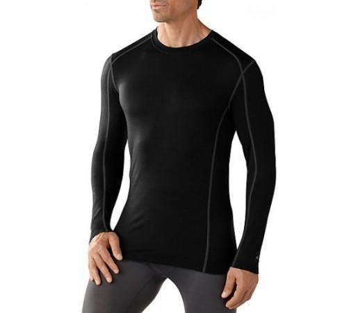 Bluza de corp barbati SMARTWOOL M NTS 150 CREW Neagra