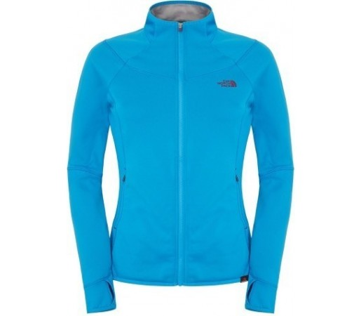 Bluza The North Face W Kegon Stretch Fz Albastra