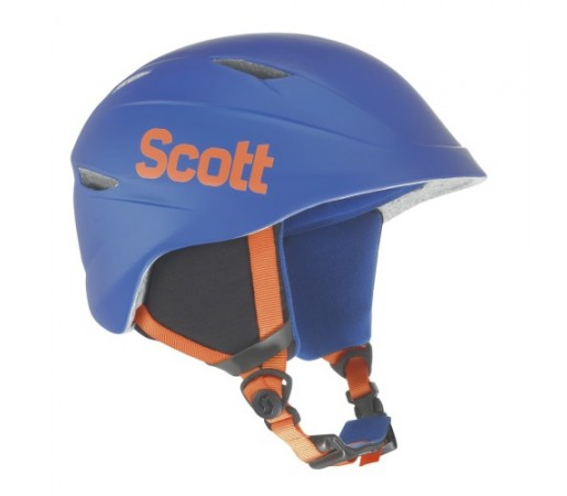 Casca ski si snowboard Scott Keeper Blue Metal