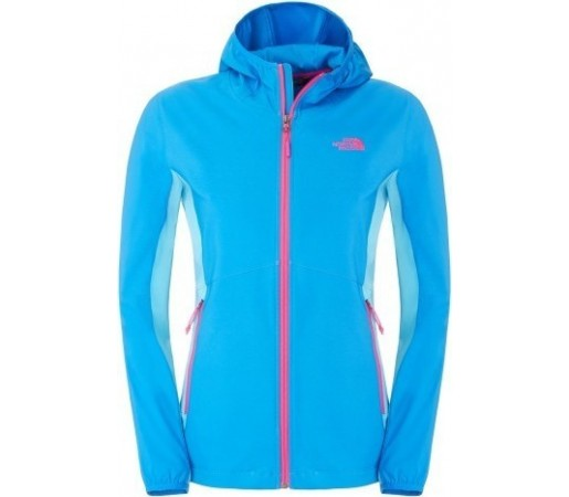 Geaca The North Face W Nimble Hoodie Albastra