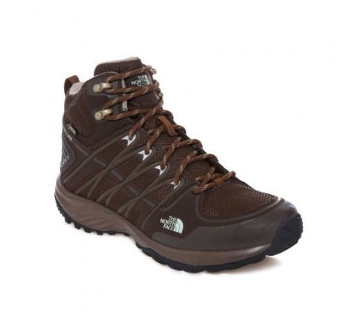 Incaltaminte hiking The North Face W Litewave Explore Mid Gtx Maro/Verde