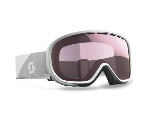 Ochelari de schi si snowboard Scott Avie STD Alb/Light Amp