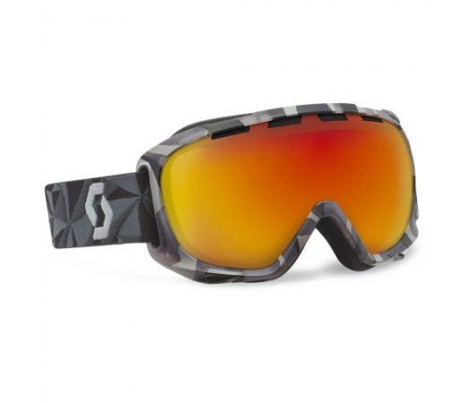 Ochelari ski si snowboard Scott Fix Neon Red