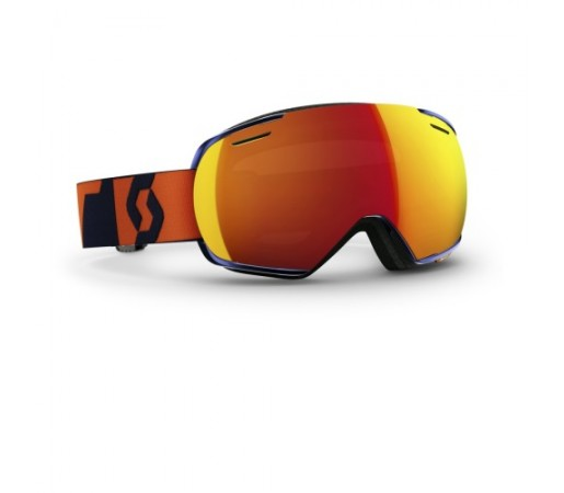 Ochelari ski si snowboard Scott Linx Albastru/Portocaliu