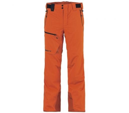 Pantaloni schi si snowboard Scott Ultimate Portocalii