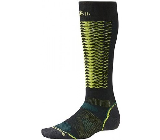 Sosete SmartWool Men's PhD Downhill Racer Socks Black