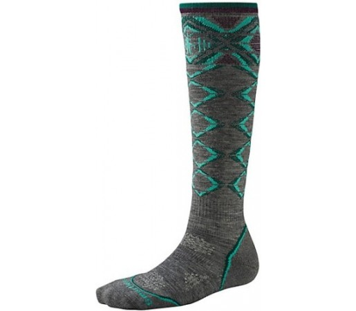 Sosete SmartWool W PHD Ski Light Pattern Grey