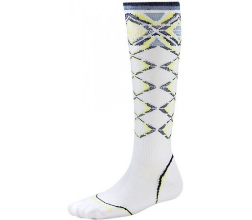 Sosete SmartWool W PHD Ski Light Pattern White