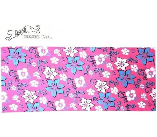 Neck Tube Bars Pink Flowers