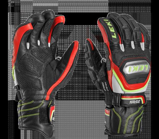Manusi Schi Leki WC Race Ti S Speed System Black/Red