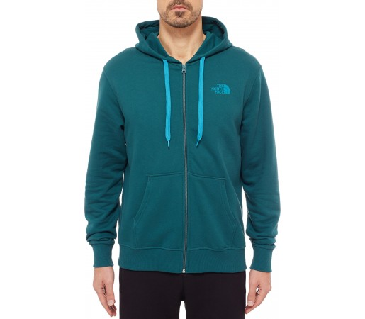 Hanorac The North Face M Open Gate Full Zip Verde