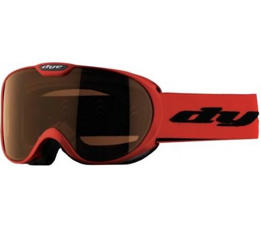 Ochelari schi si snowboard Dye D2S Rosii