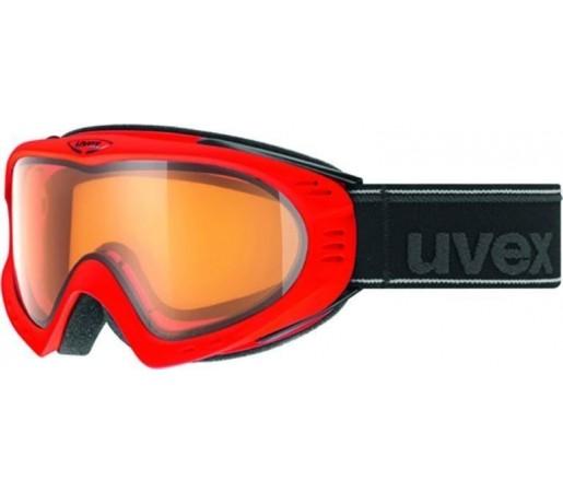 Ochelari Ski si Snowboard Uvex F2 POLA Rosu