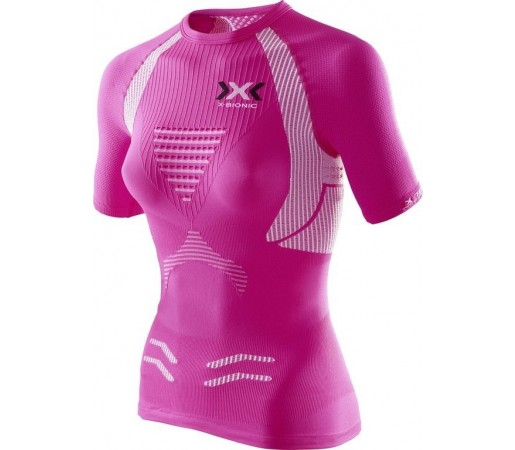 Tricou X-Bionic Running Lady The Trick OW SH S Pink