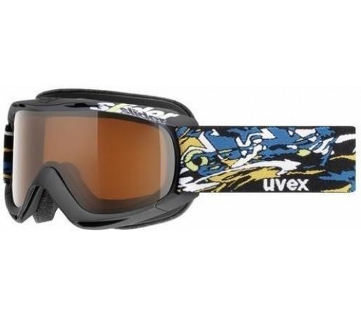 Ochelari Schi si Snowboard Uvex Slider Negru/Albastru