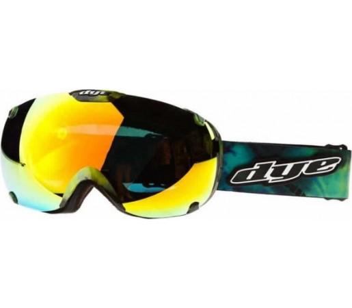 Ochelari schi si snowboard Dye T1 Tie-Dye Verde