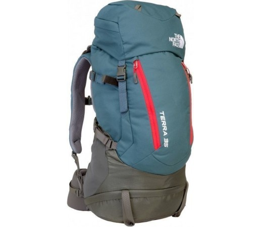Rucsac The North Face Terra 35 Conquer Blue/Fiery Red