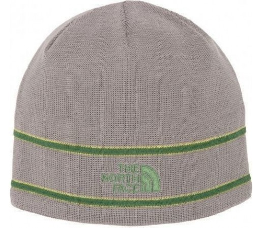 Caciula The North Face Logo Beanie Gri
