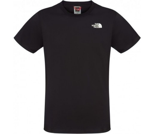 Tricou The North Face Red Box S/S M Black/Green
