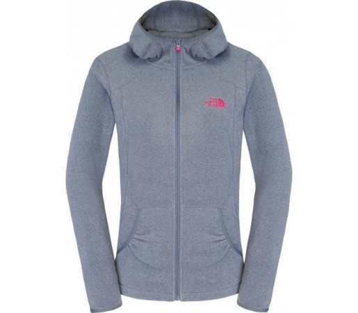 Polar The North Face W 100 Masonic Hoodie Grey
