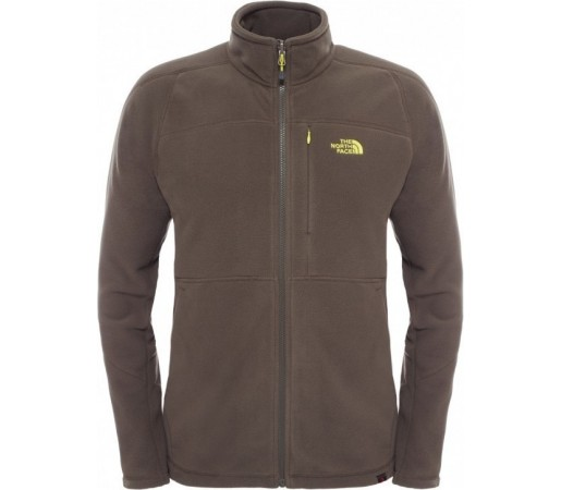 Polar The North Face M 200 Shadow Full Zip Verde