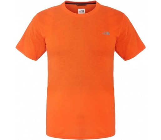 Tricou The North Face M S/S Reaxion Crew Portocaliu