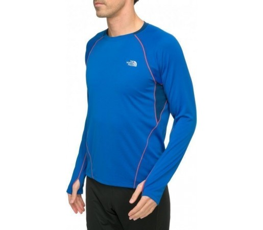 Bluza The North Face M Impulse Active LS Albastru