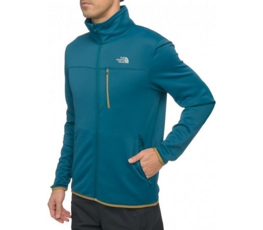 Bluza The North Face M Lixus Stretch FZ Albastru